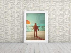 Seaside Limited Edition Art Print