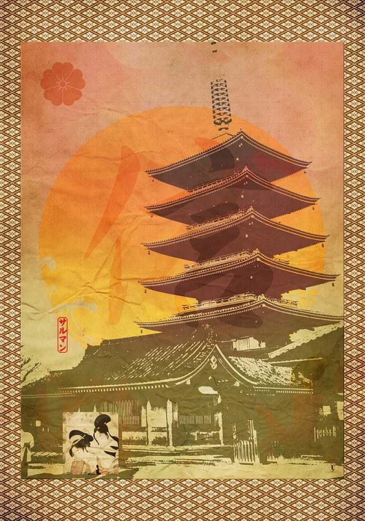 House of Faith Japanese fine art print